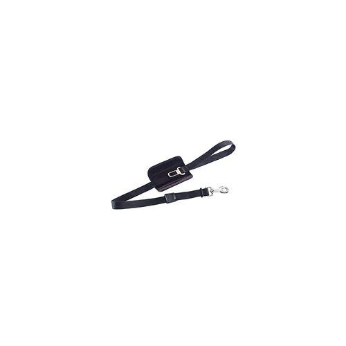 Nobby Leine Länge: 75/100 cm, Breite: 24 mm, schwarz