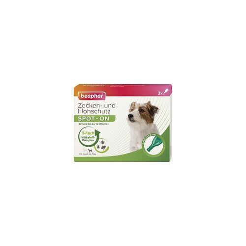 Beaphar Zecken- und Flohschutz SPOT-ON 3 x 1 ml, für kleine Hunde bis 15 kg