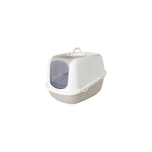 Nobby Katzentoilette NESTOR JUMBO 66,5 x 48,5 x 46,5 cm, mokka - weiß