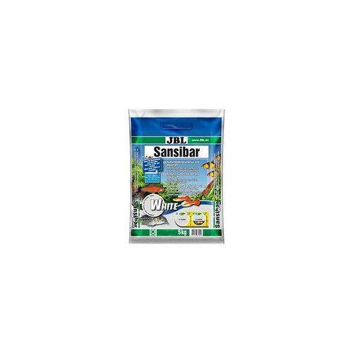 JBL Sansibar Weißer Bodengrund für Aquarien Inhalt: 5 kg