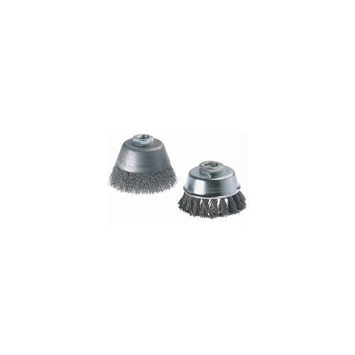 Wolfcraft Topfdrahtbürste Ø 100 mm, M14, für Winkelschleifer