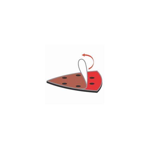 Wolfcraft Haftschleifblätter, K60, 12, 240 für Deltaschleifer, 20 Stück