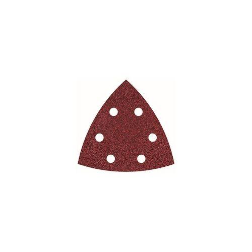 Wolfcraft Haftschleifblätter, K120 für Deltaschleifer, 95 mm, 25 Stück