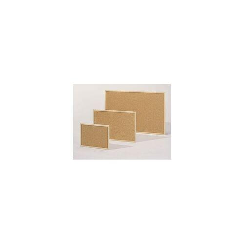 Vigo Pinnwand aus Kork mit Echtholzrahmen 90 x 60 cm