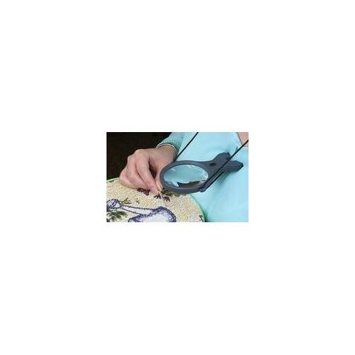 Carson Optical Carson Umhänge-Lupe LK-30 2,5 fache Vergrößerung