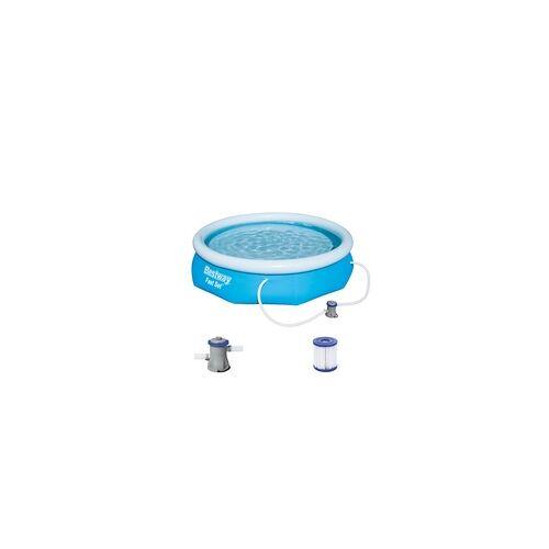 Bestway Pool Fast Set Ø 305 x 76 cm, inkl. Filterpumpe