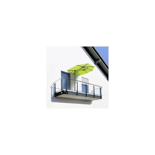 Schneider Schirme Schneider Sonnenschirm Salerno mezzo apfelgrün, 150 x 150 cm