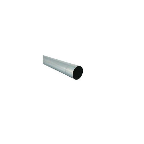 Marley Fallrohr NW 100 mm, 1 m, titan-zink