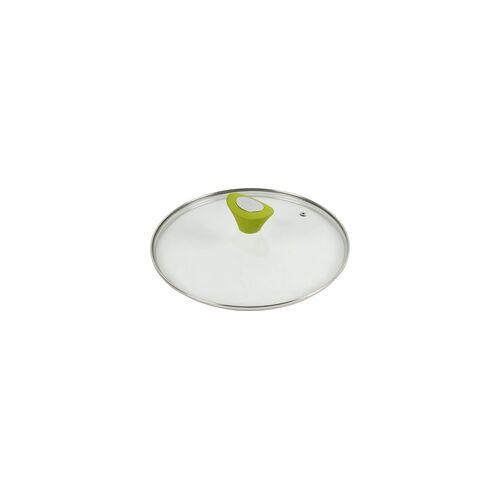 Broszio Pfannendeckel mit grünem Silikongriff Ø 26 cm