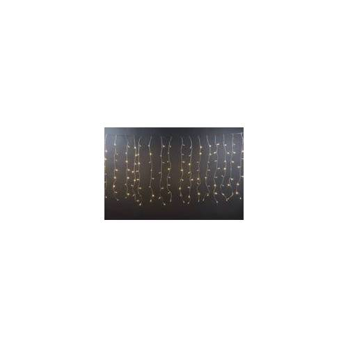 Heitronic LED Lichtervorhang 192 LED 1,2X1,5M Warmweiß