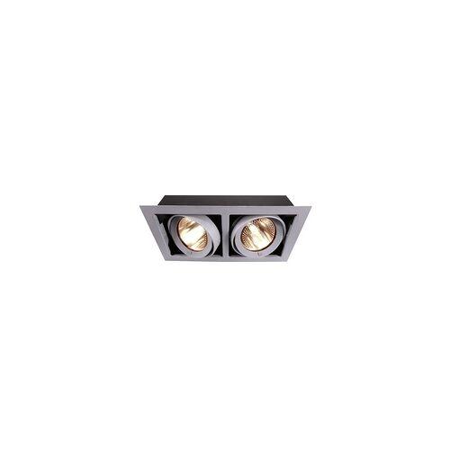 Deko-Light Deko Light Kardan Einbaustrahler silber-matt 2 flg. G12 Modern