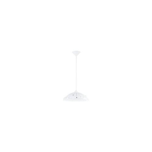 EGLO VETRO Kristall Pendelleuchte, 1-flg., E27, weiss, klar