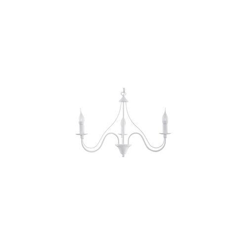 Sollux MINERWA Kronleuchter weiss 3-flg. E14