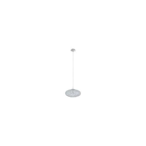EGLO CLEMENTE Kristall Pendelleuchte Ø350, 1-flg., E27, chrom, klar