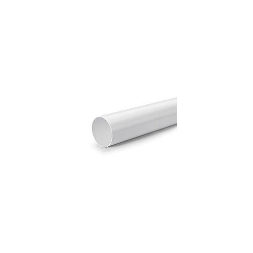 Naber R-125 Rundrohr, Lüftungsrohr, weiß