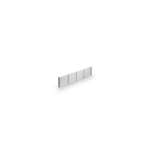Naber Sockel-Lüftungsgitter 2, silber, B 104 mm, L 480 mm