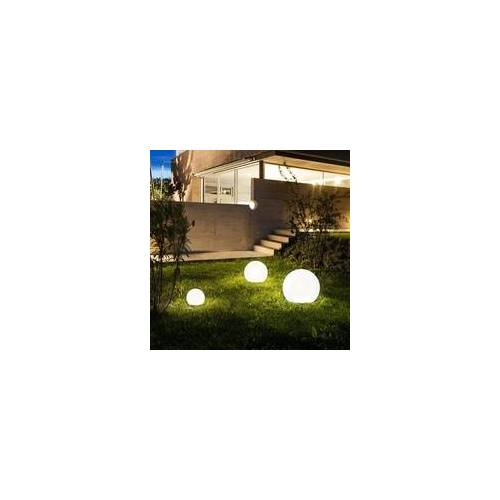 s.LUCE pro Globe+ langlebige Garten Aussenkugel Weiß