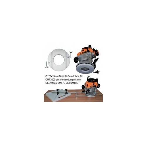 Ake Delrin-Grundplatte für CMT3000 zur Verwendung mit Oberfräsen CMT7E/CMT8E