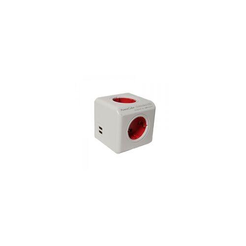 Allocacoc PowerCube mit USB Anschlüssen - Allocacoc