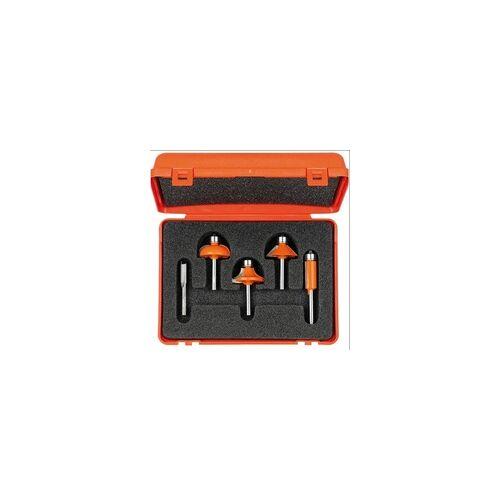 Ake CMT Profilfräser-Set, 5-teilig, S = 8 mm