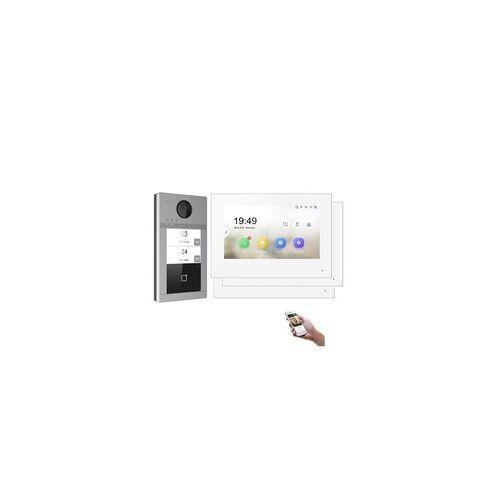 Mathfel WLAN IP Türsprechanlage für 2-Familienhaus mit RFID und HD Kamera