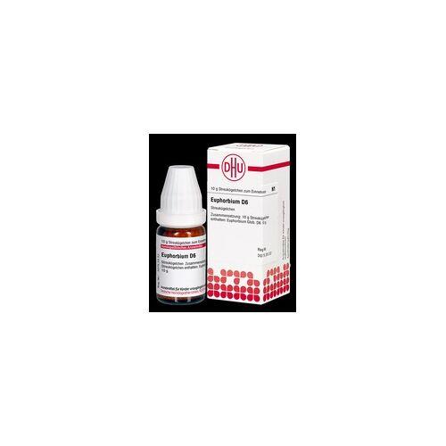 DHU-ARZNEIMITTEL EUPHORBIUM D 6 Globuli