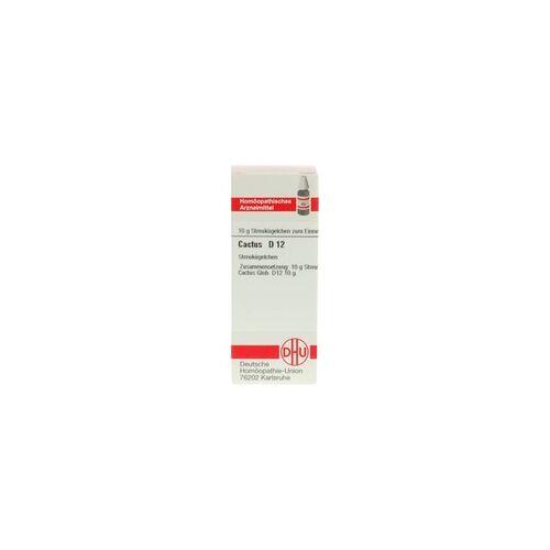 DHU-ARZNEIMITTEL CACTUS D 12 Globuli