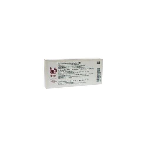 WALA Heilmittel GmbH MUSCULUS DELTOIDEUS Komplex GL D 5 Ampullen