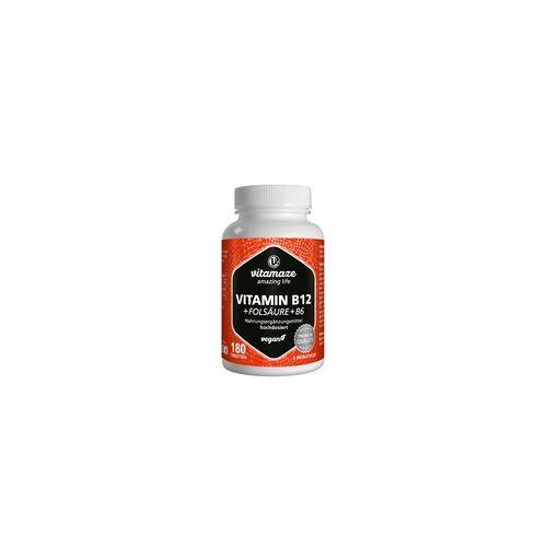Vitamaze B12 1.000 µg hochdosiert+B9+B6 vegan