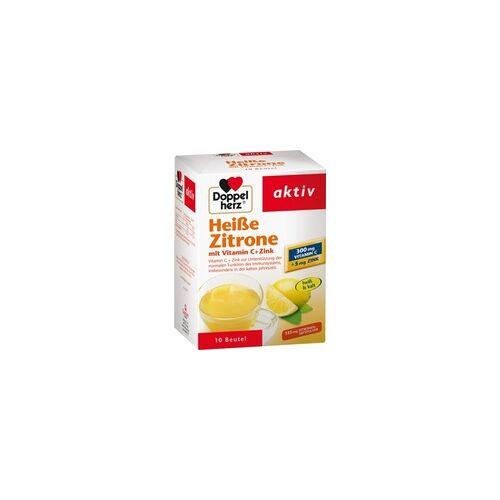 Queisser DOPPELHERZ heiße Zitrone Vitamin C+Zink Granulat