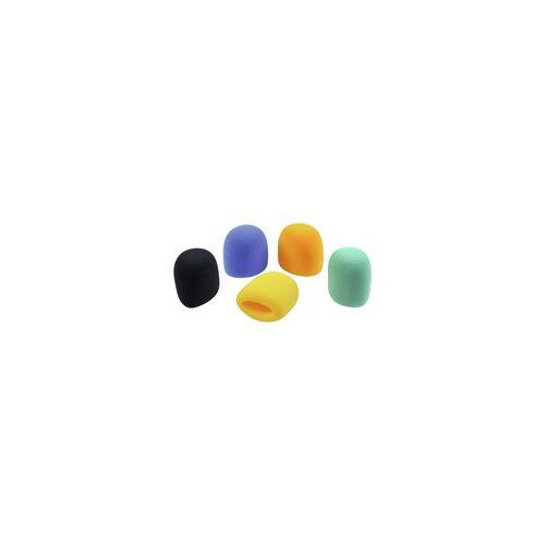 Omnitronic Mikrofon Windschutz Set 5 Farben