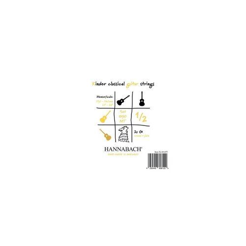 Hannabach Hannabach 890 MT 1/2 Saiten für Kindergitarre