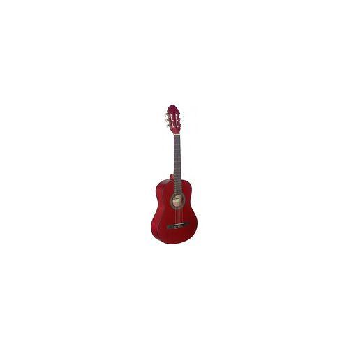 Stagg C-410 M RED 1/2 Klassik-Gitarre - Red
