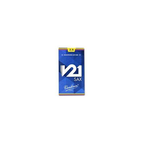 Vandoren V21 Saxophon Alt 2,5 Einzelblatt