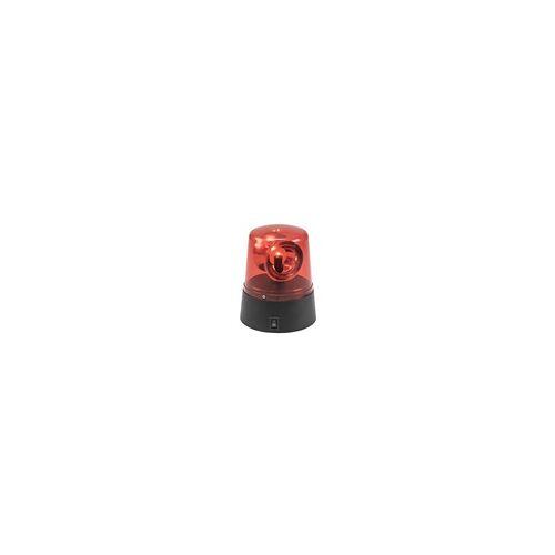 EuroLite LED Mini Polizeilicht rot Rundumleuchte USB/Batterie