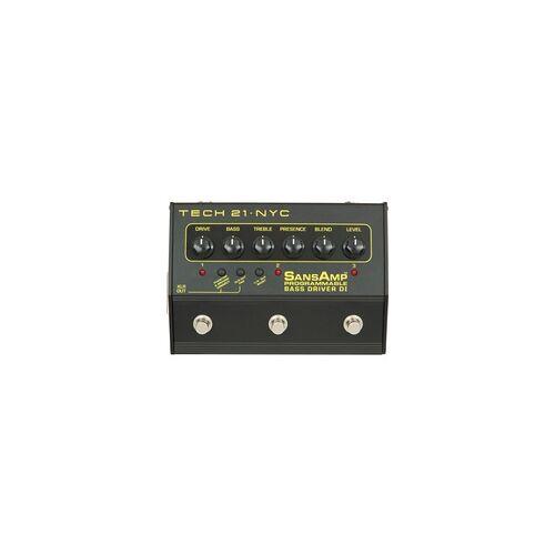 Tech 21 Bass Driver DI Programmable SansAmp