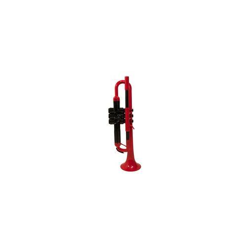 pTrumpet B Trompete rot Kunststoff
