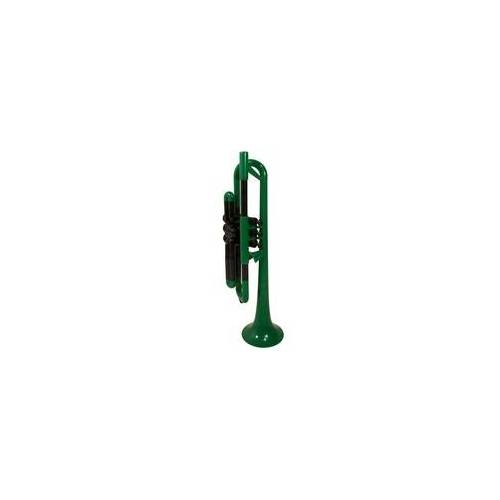 pTrumpet B Trompete grün Kunststoff