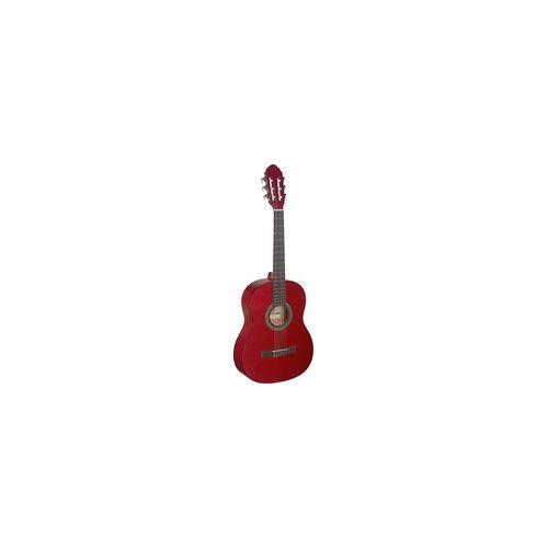 Stagg C-430 M RED 3/4 Klassik-Gitarre - Red