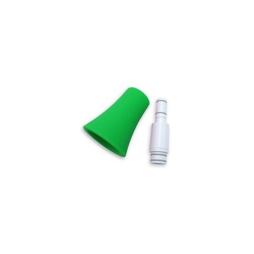 Nuvo jSax Kit für gerade Bauweise Bogen und Becher in weiß-grün