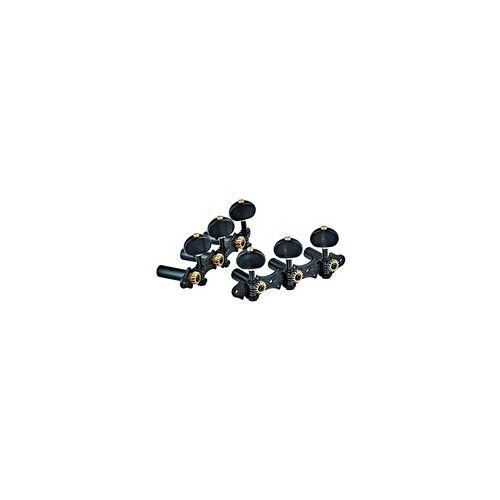 Ortega Classic Stimmmechaniken Set Deluxe schwarz/schwarz