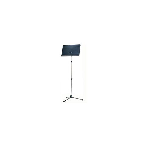 K&M 118/4 Orchesternotenpult Stativ vern. Platte schwarz