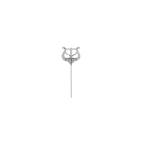 Riedl 330-20N Trompeten Marschgabel vernickelt, Lyra groß, 20 cm