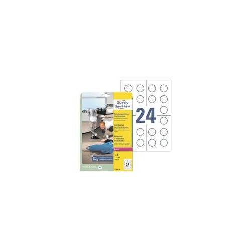 Zweckform 240er-Pack Prüfplaketten, fälschungssicher, Avery Zweckform