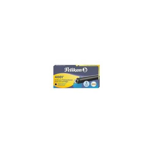 Pelikan Tintenpatronen »4001« (5 Stück) blau, Pelikan