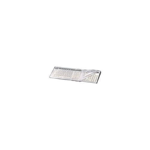 Hama Tastatur-Staubschutzhaube transparent, Hama, 48x5x22 cm