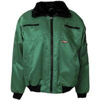 Planam Winter-Piloten-Jacke »GLETSCHER« Größe L grün, Planam
