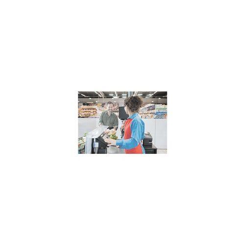 Franken Abgehängter Nies- und Spuckschutz Acryl 100 x 65 cm transparent, Franken, 100x65x0.2 cm