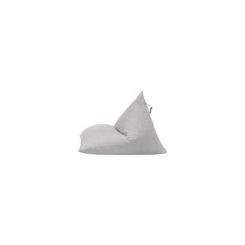 SMV Sitzsack »B!zeddy« mit Teflonbeschichtung für Innenbereich grau, SMV, 100x80x130 cm