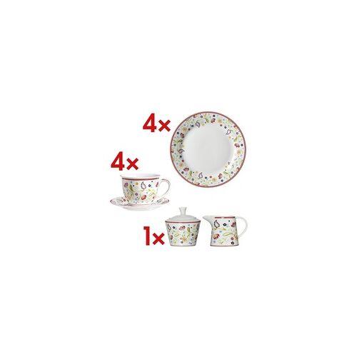 Ritzenhoff & Breker 14-tlg. Kaffee-Geschirr-Set »Shanti« weiß, Ritzenhoff & Breker, 20x2x20 cm